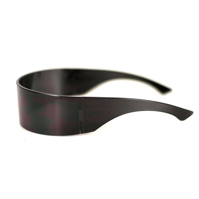 Martin margiela sunglasses shield black men 39 s unisex for for Martin margiela glasses