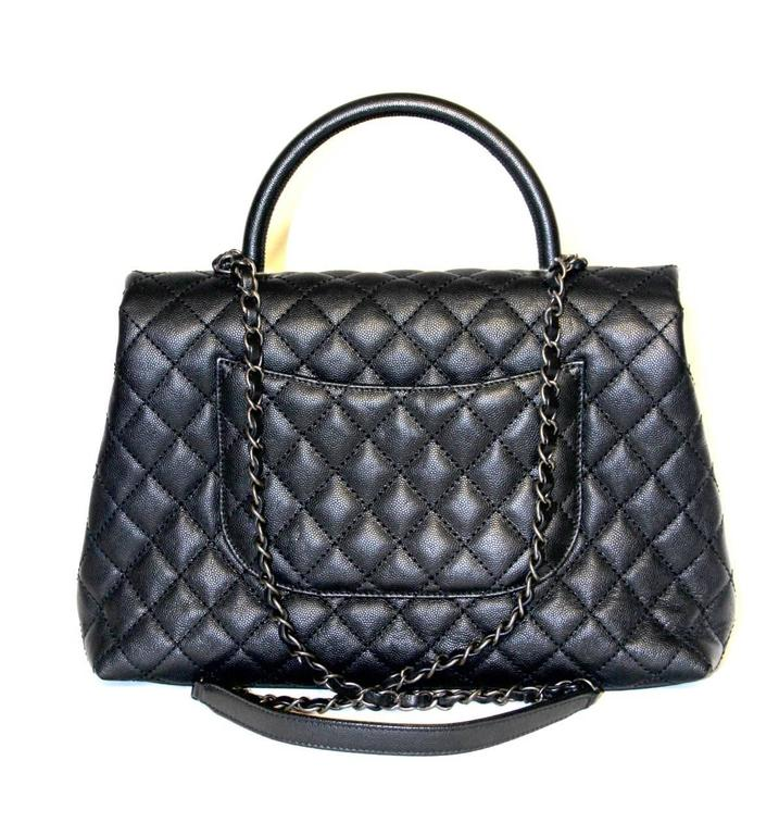 This Fancy Chanel Coco Handle Flap Bag Is The Perfect Everyday It Has An