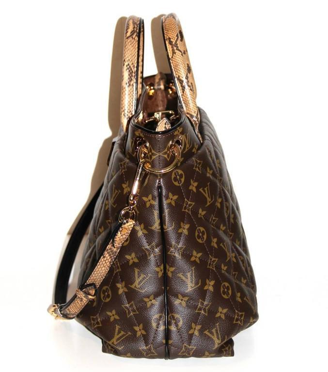 Louis Vuitton Tote Monogram Etoile Bag Quilted Canvas Limited Edition  4
