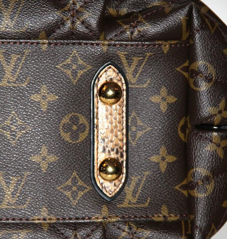 Louis Vuitton Tote Monogram Etoile Bag Quilted Canvas Limited Edition  8