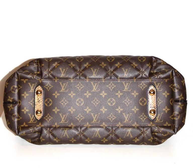 Louis Vuitton Tote Monogram Etoile Bag Quilted Canvas Limited Edition  7