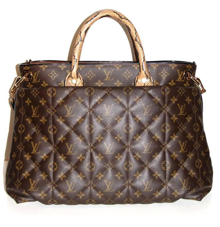 Louis Vuitton Tote Monogram Etoile Bag Quilted Canvas Limited Edition  3
