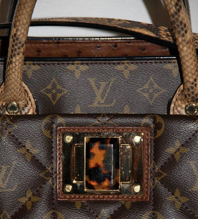 Louis Vuitton Tote Monogram Etoile Bag Quilted Canvas Limited Edition  10