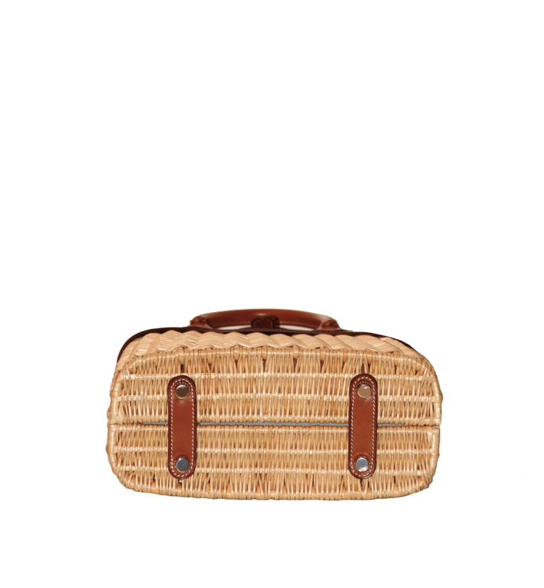 Hermes 24 Limited Edition Bolide Picnic Bag  In Excellent Condition For Sale In Geneva, CH