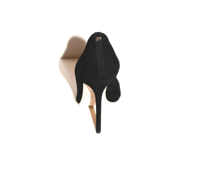"""DSQUARED2 """"Babe Wire""""  Collection Black Suede Pumps  In New never worn Condition For Sale In Geneva, CH"""
