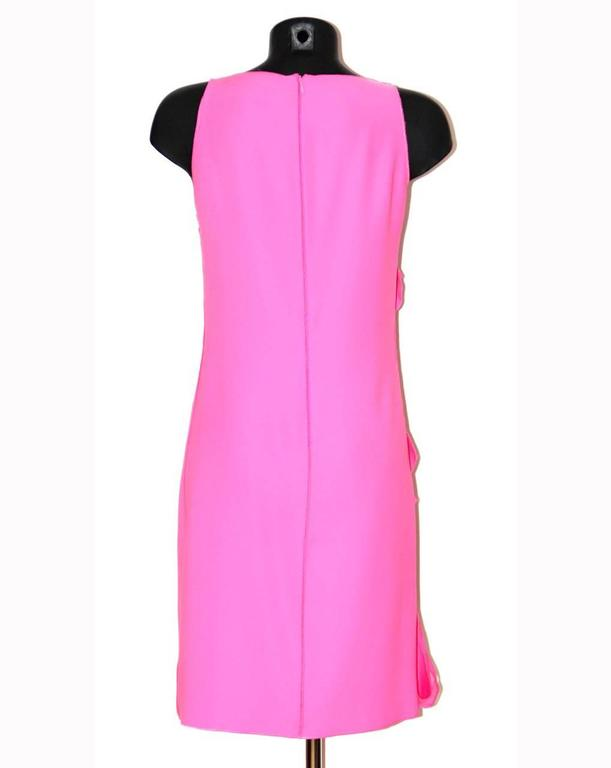 Bottega Veneta Hot Pink Sleeveless Dress - Hot Pink Silk - FR 40 FR  4