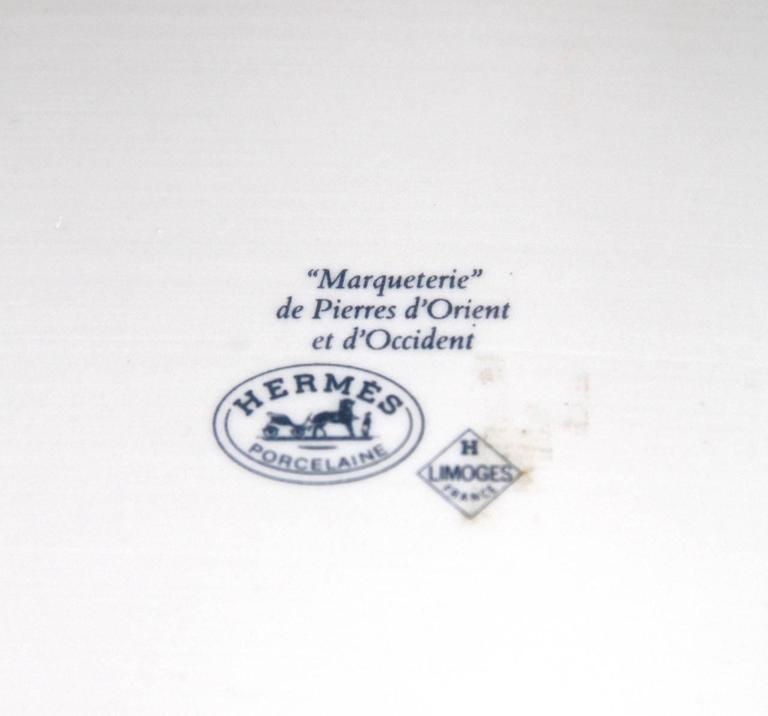 """HERMES """"Marqueterie de Pierres d'Orient et d'Occident"""" Coffee and Tea Service For Sale 4"""