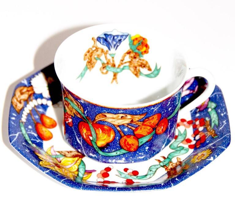 """Hermes """"Marqueterie de Pierres d'Orient et d'Occident"""" Coffee and Tea Service 2"""