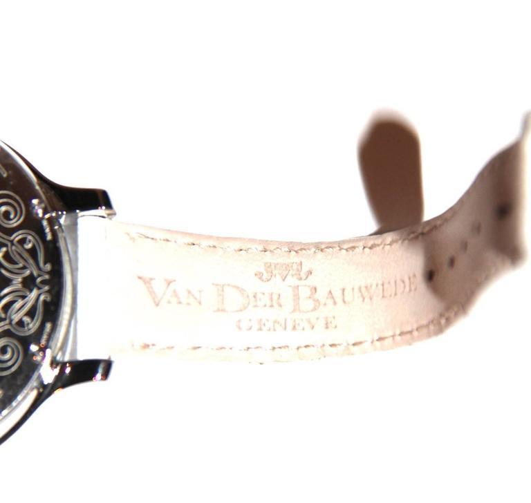 Van Der Bauwede Watch - Shamrock Collection - Swiss-Made - Pristine Condition  For Sale 4