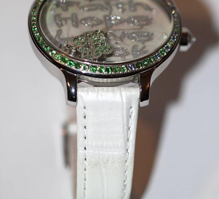 Women's Van Der Bauwede Watch - Shamrock Collection - Swiss-Made - Pristine Condition  For Sale