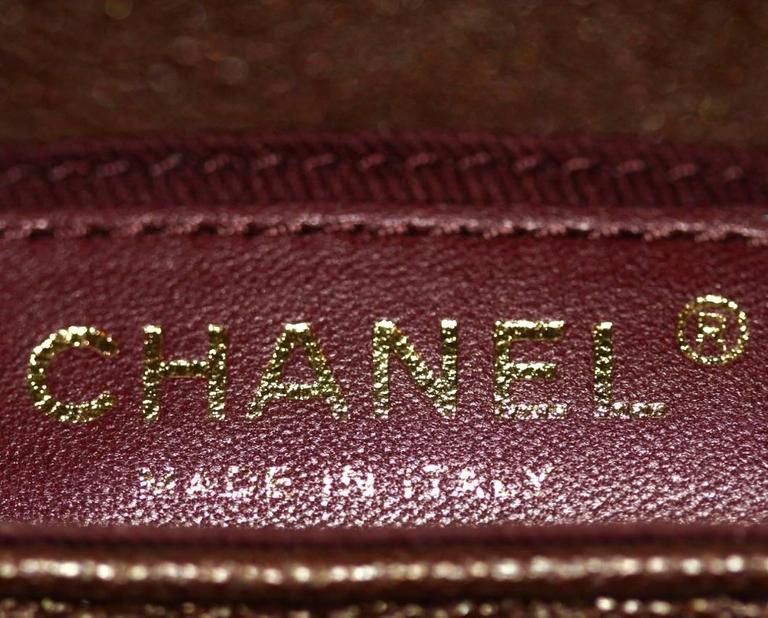 "Chanel ""Back to School"" Bag - Perfect Edge Collection - Brown Quilted Leather  6"
