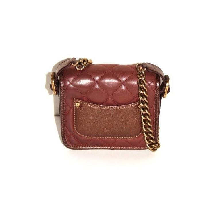 "Chanel ""Back to School"" Bag - Perfect Edge Collection - Brown Quilted Leather  5"