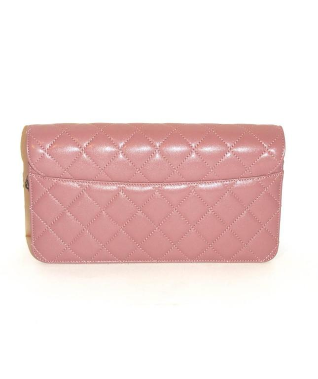 Chanel Beauty Lock Flap - Bag Old Pink Sheepskin Leather - 2016 NEVER WORN 3