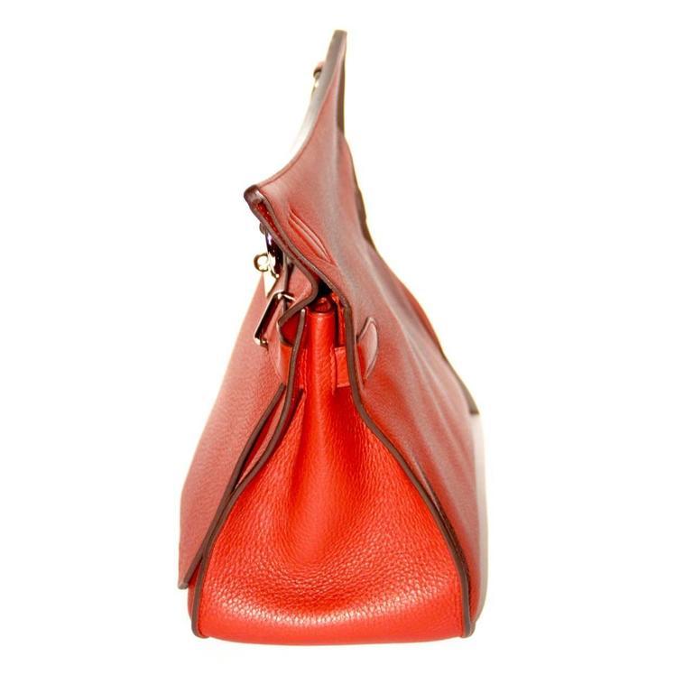 Hermes Jypsiere 37 Rouge Brique Taurillon Clemence 3