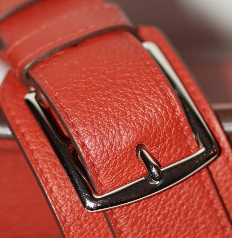 Hermes Jypsiere 37 Rouge Brique Taurillon Clemence 5