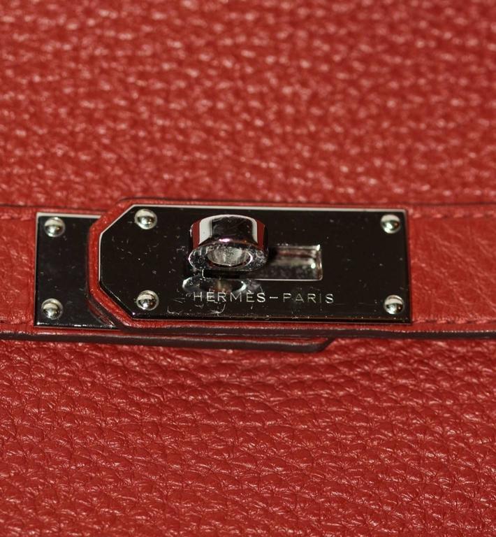 Hermes Jypsiere 37 Rouge Brique Taurillon Clemence 7