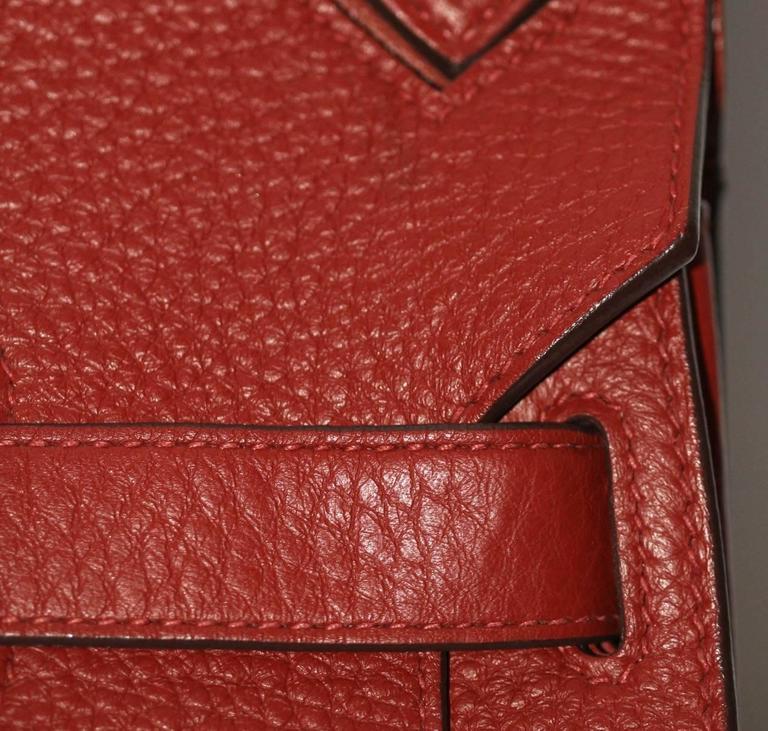 Hermes Jypsiere 37 Rouge Brique Taurillon Clemence 9