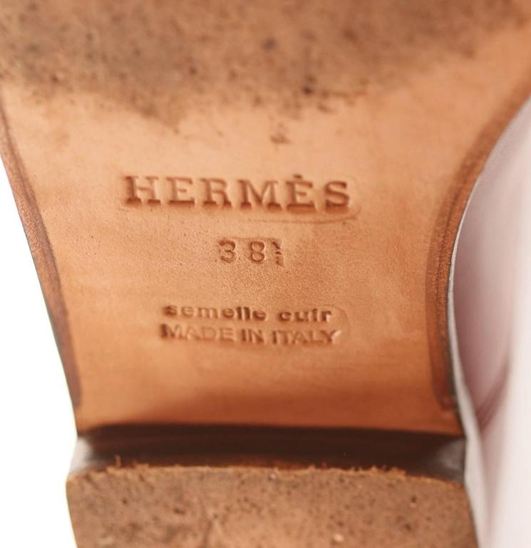 "Hermes Boots ""Jumping"" Rouge H  7"