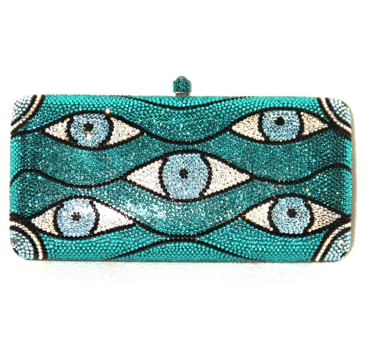 Sylvia Toledano look Collection Swarovski Crystal-embellished Box Clutch MiNQlKct