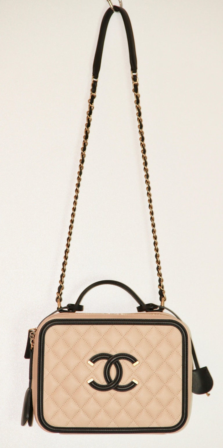 991ba7de5c633f Iconic Chanel bag from the Spring-Summer 2016 Collection. This bag is in a