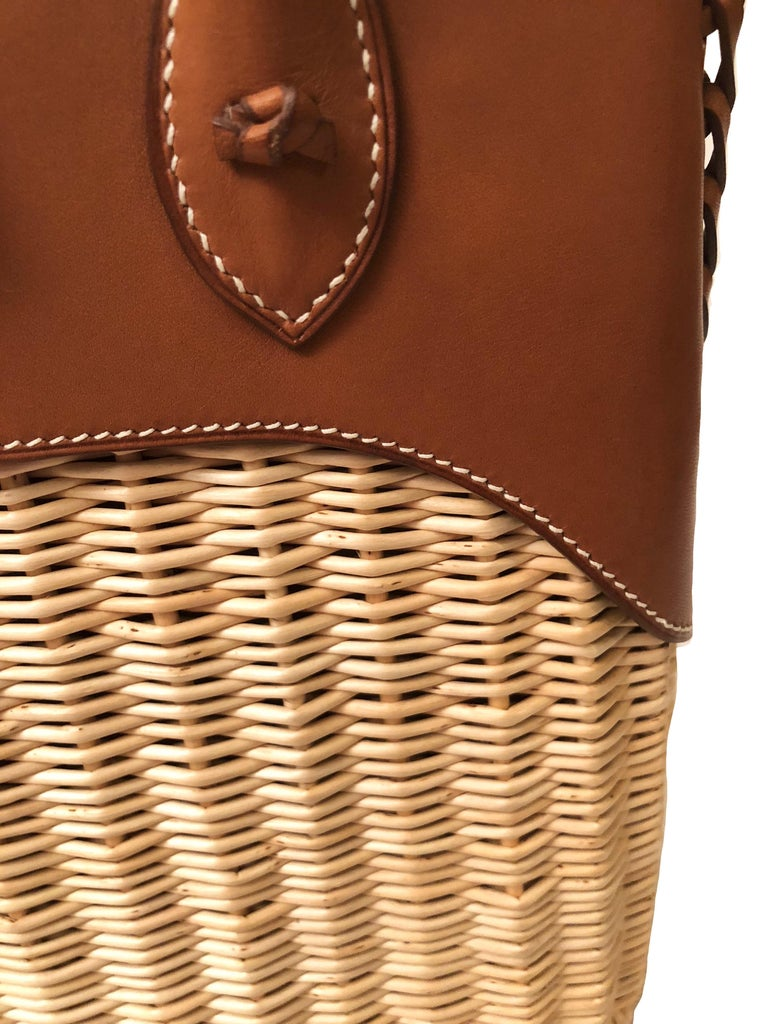 Women's Hermes 24 Limited Edition Bolide Picnic Bag  For Sale