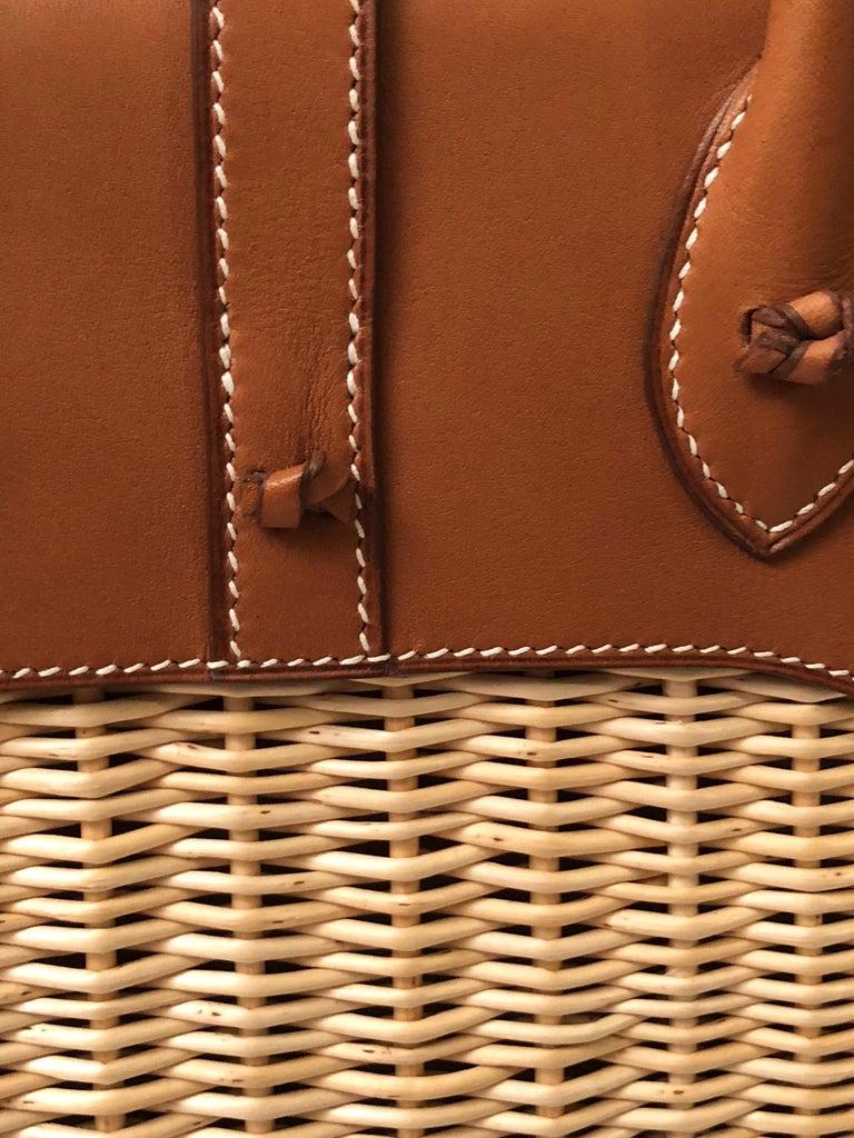 Hermes 24 Limited Edition Bolide Picnic Bag  For Sale 1