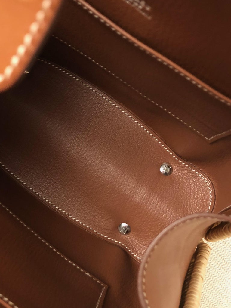Hermes 24 Limited Edition Bolide Picnic Bag  For Sale 5