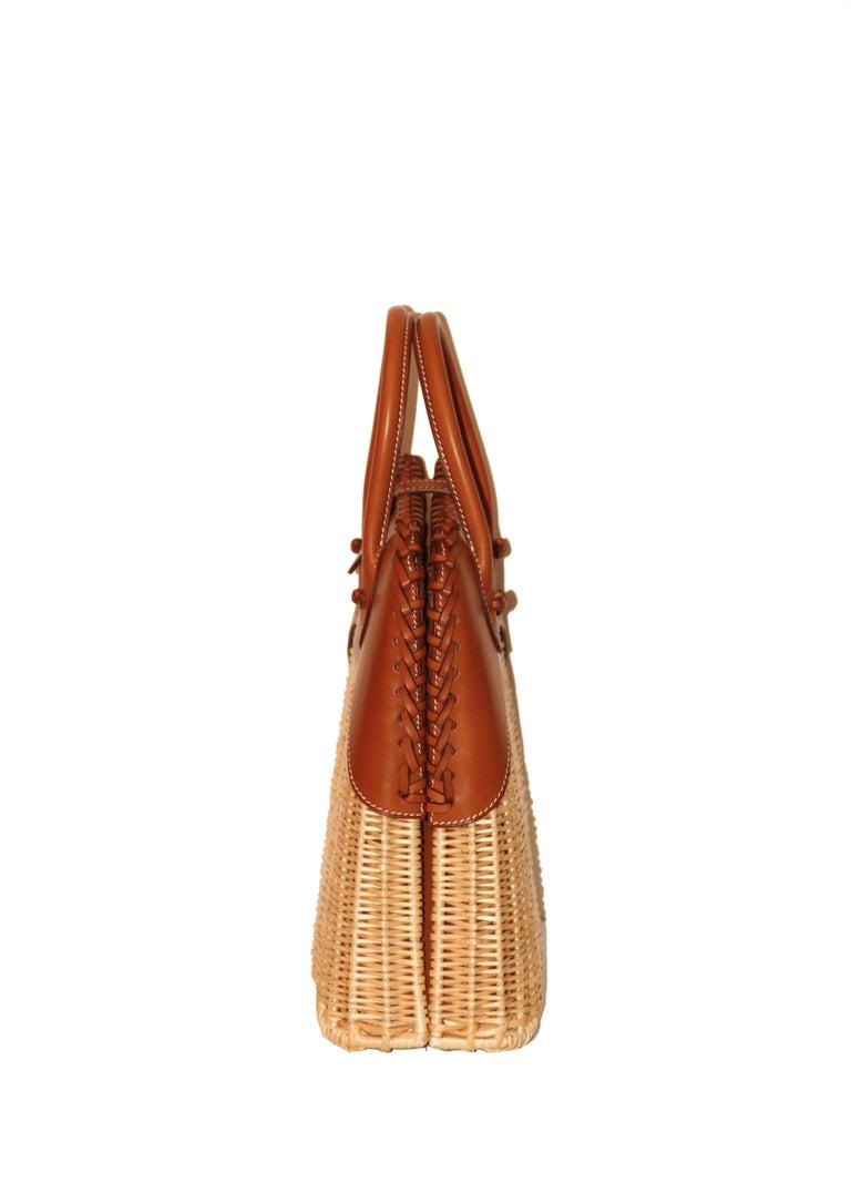 Orange Hermes 24 Limited Edition Bolide Picnic Bag  For Sale