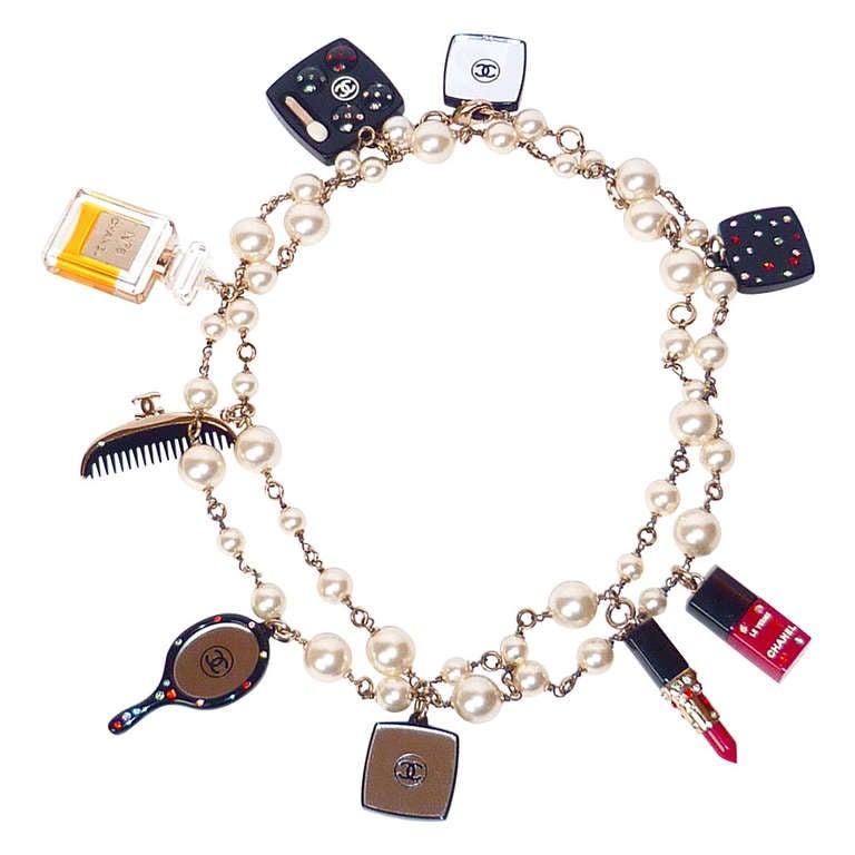 Fall 2004 Chanel Perfume and Cosmetics Charms Sautoir 1