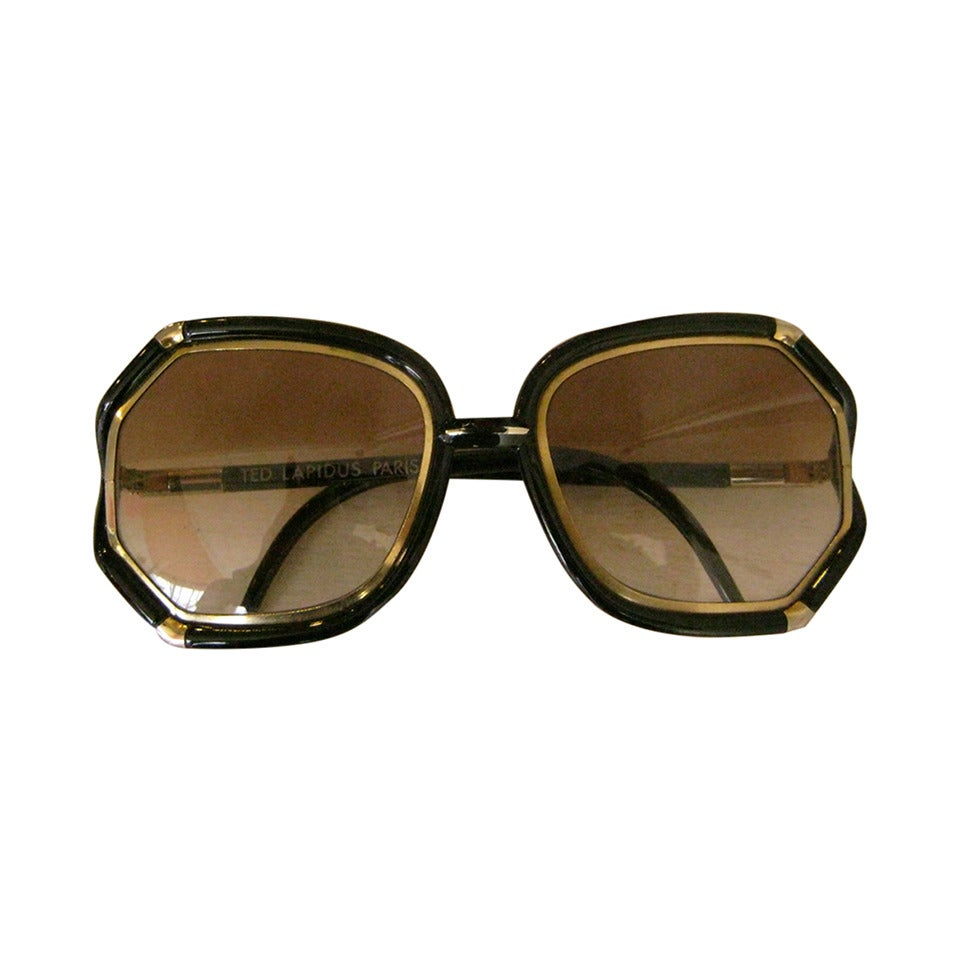 1970s Ted Lapidus Sunglasses As Worn By Jennifer Lawrence In American Hustle For Sale