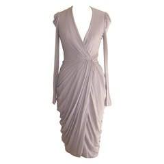 2011 Alexander McQueen Draped Wrap Dress (38 ITL) NWT