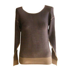 Issey Miyake two-tone Top Size 2