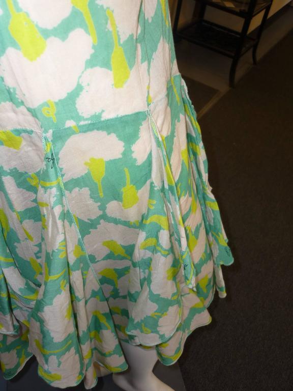 Sonia Rykiel Flower Print Dress  For Sale 1