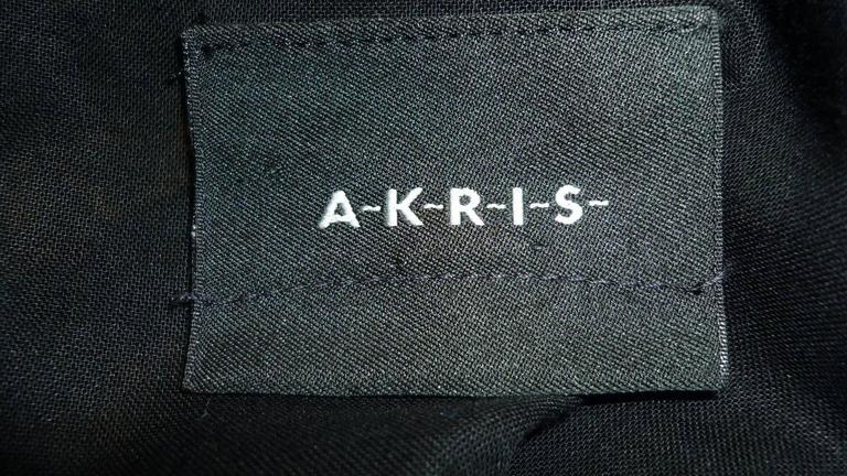 A.K.R.I.S Black Cotton Dress (M-M+) For Sale 3