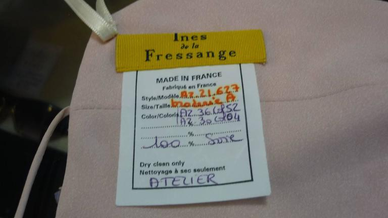 "NWT Ines de la Fressange Evening ""Soutien Gorge"" 38 (fr) In New never worn Condition For Sale In Toronto, CA"