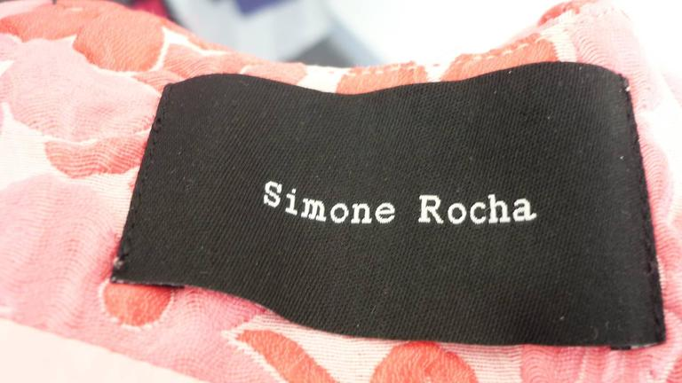 S/S 2015 Simone Rocha Textured Cloque Top NWT (14 UK) 8
