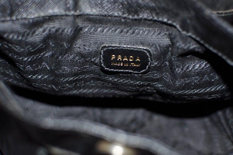 Women's Unique Vintage PRADA Basket Style Handbag - Collector Item For Sale