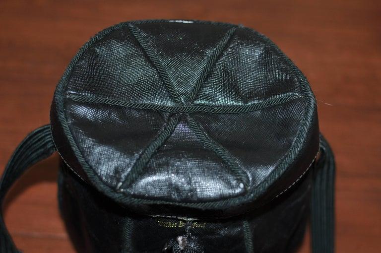 Unique Vintage PRADA Basket Style Handbag - Collector Item For Sale 1