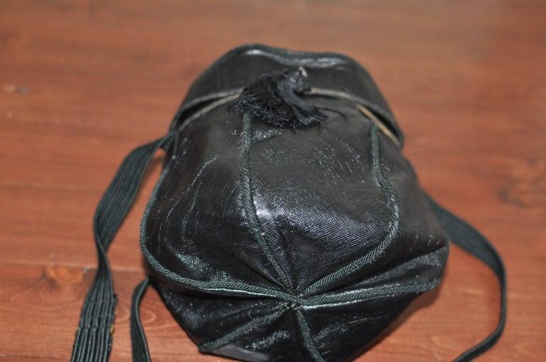 Unique Vintage PRADA Basket Style Handbag - Collector Item For Sale 2
