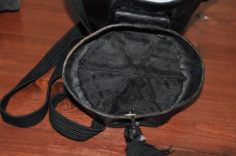 Unique Vintage PRADA Basket Style Handbag - Collector Item For Sale 3