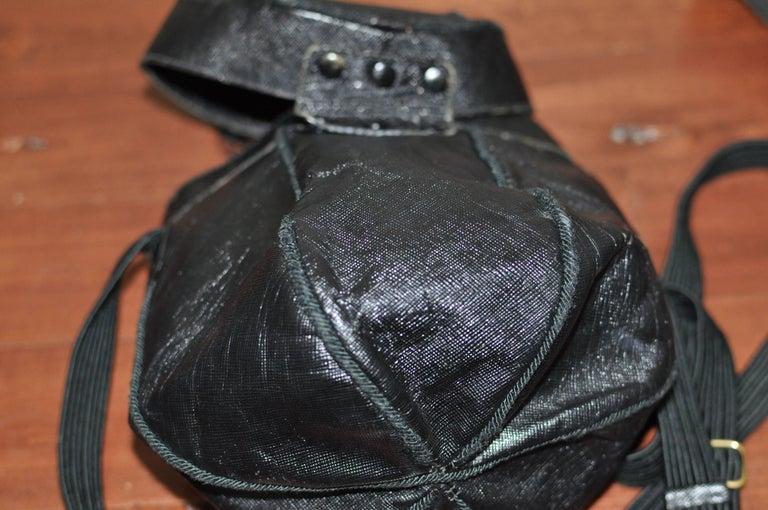 Unique Vintage PRADA Basket Style Handbag - Collector Item For Sale 4