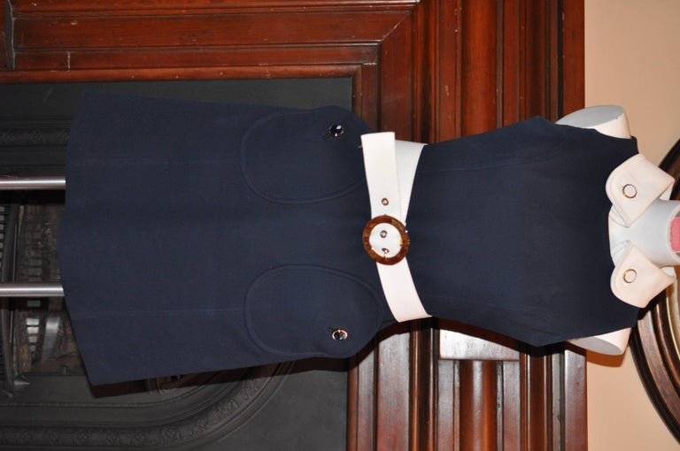 Women's Michael Kors 1960s Style Dress  Model KDA444P 10 (US) For Sale