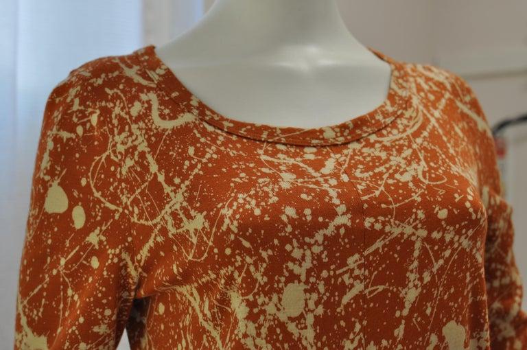 Orange 1970s Diane Von Furstenberg