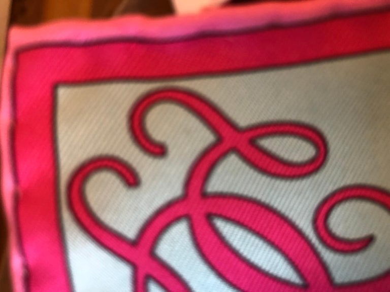 2007 Emilio Pucci for Guerlain Silk Scarf Limited Edition 34