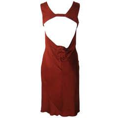 Elegant Narciso Rodriguez Silk Charmeuse Dress NWT