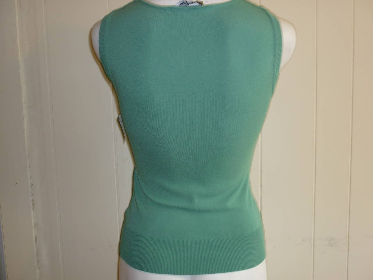 Dolce & Gabbana Soft Green Top NWT 40 ITL 3