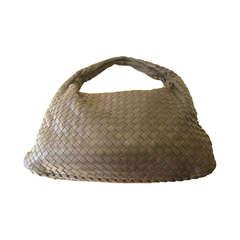 Bottega Veneta Medium Ebano Intrecciato Hobo Bag With Matching Coin Purse