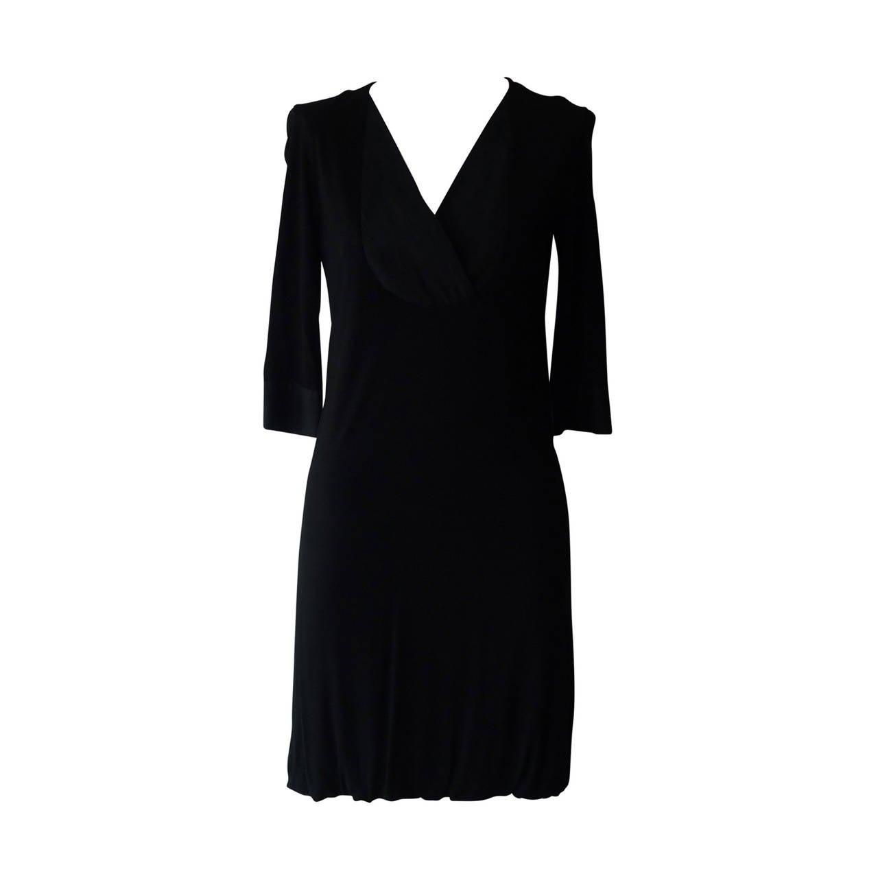 Martin Margiella Simple Little Black Dress (40)