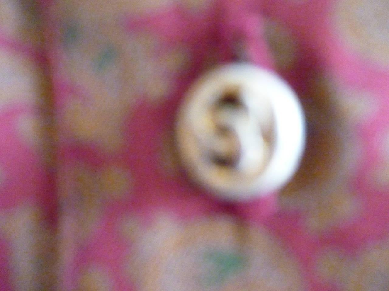 1980s CHANEL Paisley Silk Dress 3