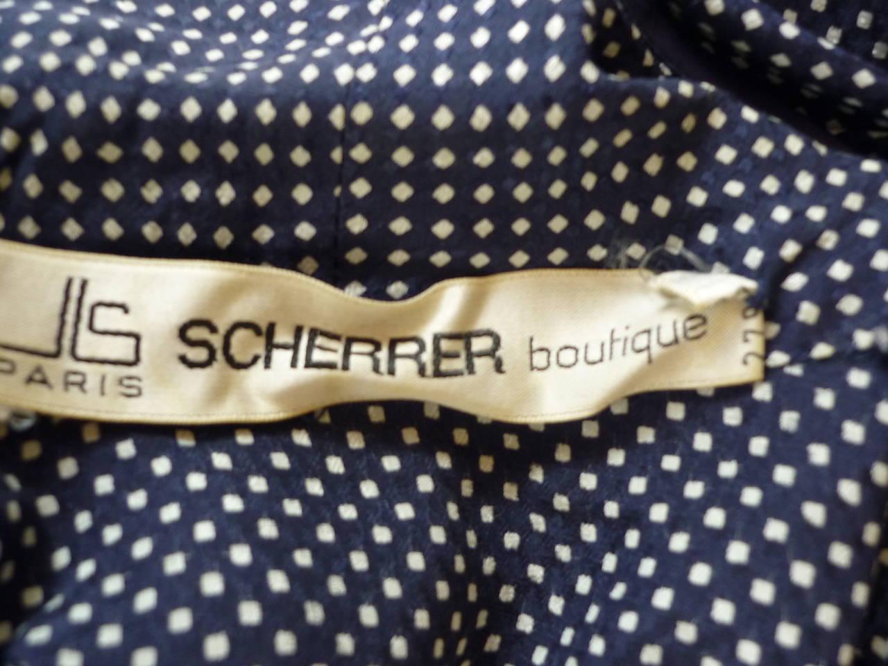 1980s Jean Louis Scherrer Versitile Silk Blouse #279463 For Sale 1